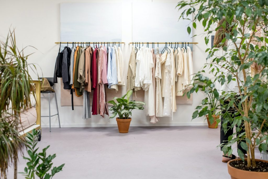 create your online clothing catalogue