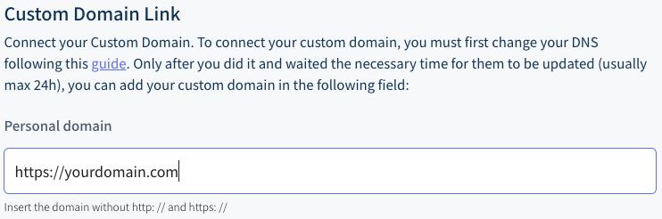 configure DNS on vetrinalive